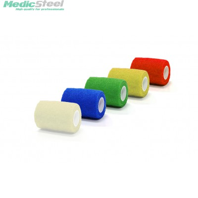 ELASTIC COHESIVE BANDAGE - mixed colours