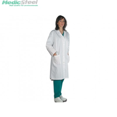 DOCTOR'S WHITE COAT 100% COTTON women