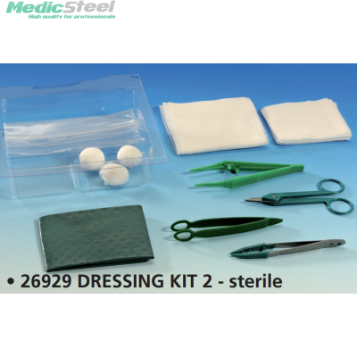 DRESSING KIT 2 sterile