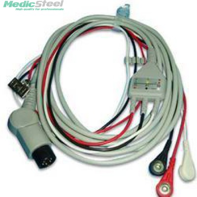 ECG CABLE FOR CU ER 1/2/3 3 lead