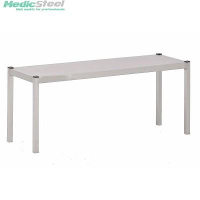 RVS Stelling / Etagere 1 niveau - inox 304/316 :: Medicsteel.nl