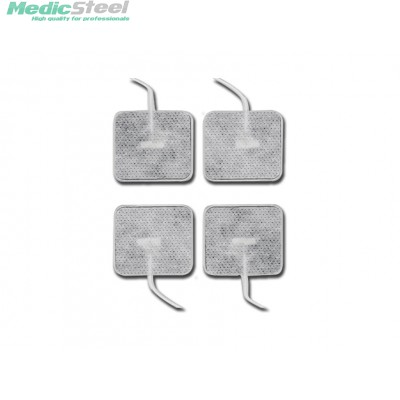 GELLED ELECTRODES 40 x 40 mm with cable