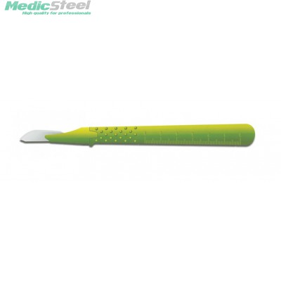 GIMA STERILIZED DISPOSABLE S/S SCALPEL - Premium Model