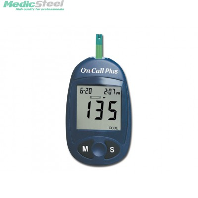 GLUCOSE MONITOR PLUS meter only (mg/dl)