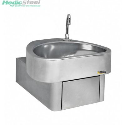 Hygienische handenwasbak