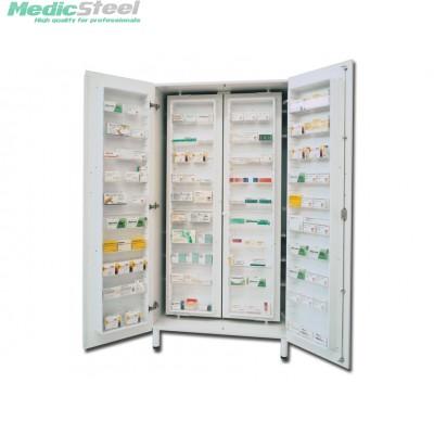 MEDICINE CABINET - bi laminated board - white