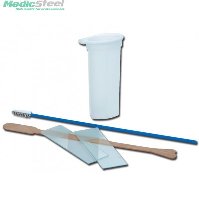 PAP TEST KIT sterile without speculum