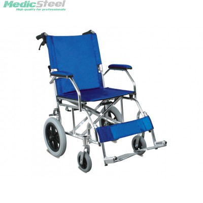 QUEEN ALUMINIUM WHEELCHAIR - blue