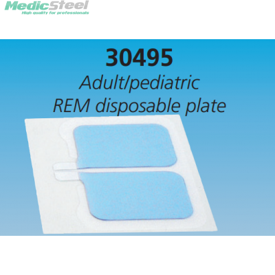 REM SINGLE USE NON WOVEN GROUND PAD adult/ped.