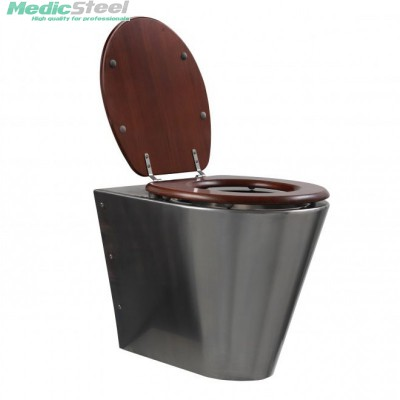 Rvs toilet - staand model
