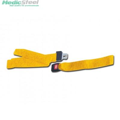 SET OF 3 BELTS - D - yellow