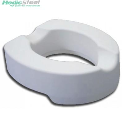 SOFT RAISED TOILET SEAT 10 cm