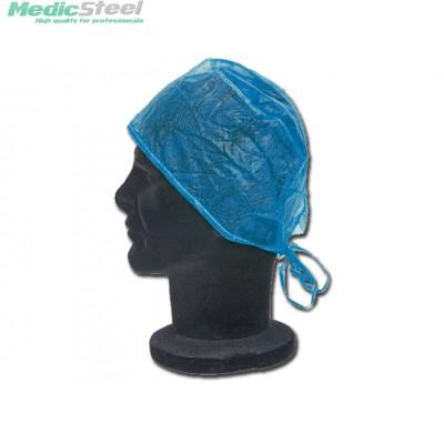 SURGEON CAP light blue