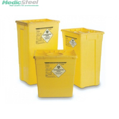 WASTE CONTAINER - single lid