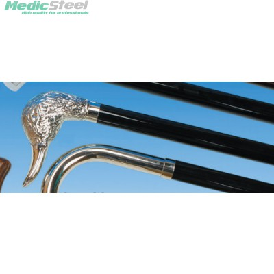 WOOD STICK TIEPOLO chromed duck handle