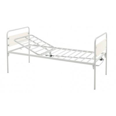 1 JOINT BED - 1 crank - castors