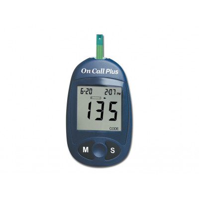 GLUCOSE MONITOR PLUS meter only (mg/dl) - english - french