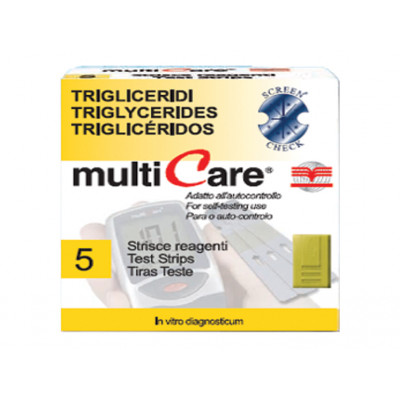 MULTICARE™ TRIGLYCERIDES STRIPS