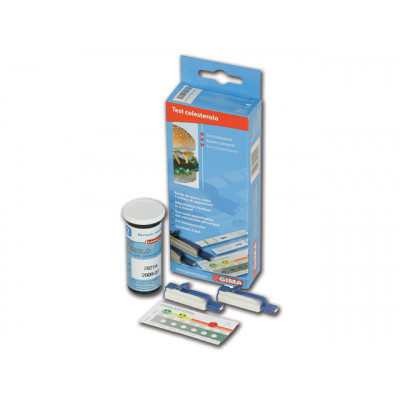VISUAL CHOLESTEROL STRIPS FOR SELF TEST