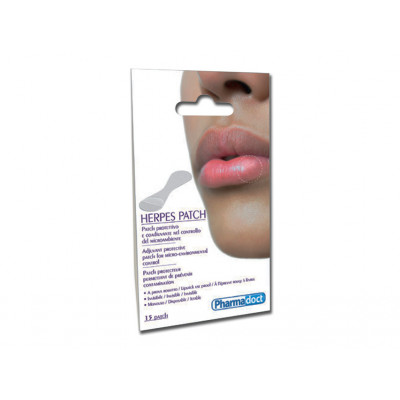 PHARMADOCT HERPES PATCH carton of 12 boxes of 15
