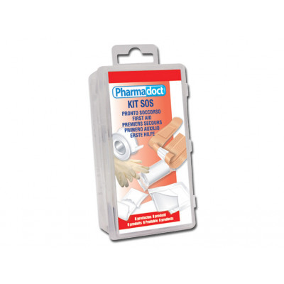 PHARMADOCT FIRST AID KIT carton of 8 boxes with 8 different products
