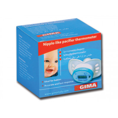 NIPPLE LIKE DIGITAL PACIFIER THERMOMETER