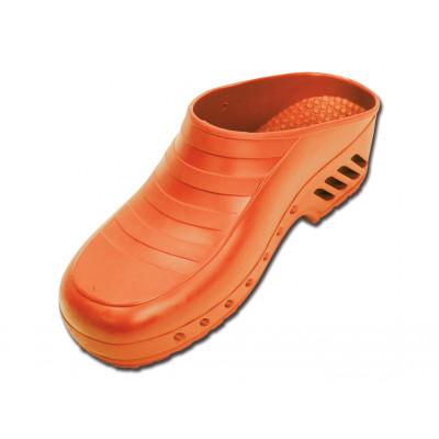 GIMA PROFESSIONAL CLOGS without pores - orange