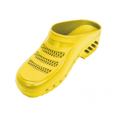 GIMA PROFESSIONAL CLOGS with pores - yellow