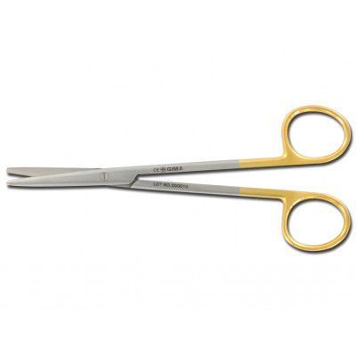 GOLD METZENBAUM SCISSORS straight