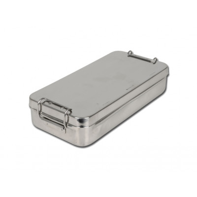 STAINLESS STEEL BOX with handle