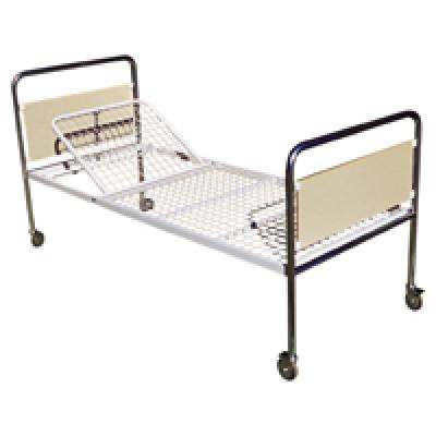 STANDAARD BED - MET WIELEN Ø100 MM