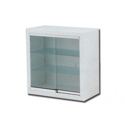 WALL CABINET glass sliding doors