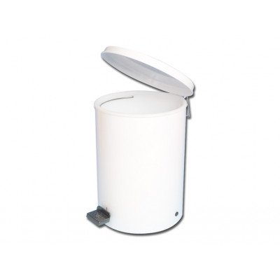 WASTE BIN enamelled steel