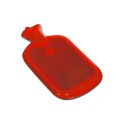 HOT WATER BOTTLE red