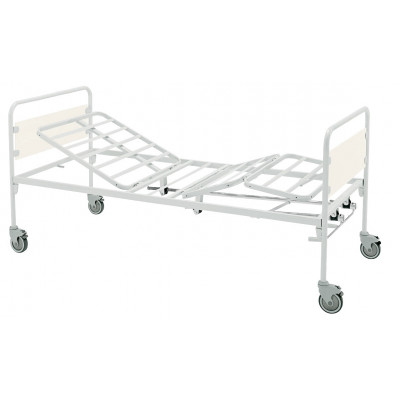 3 JOINTS BED - 2 cranks - castors