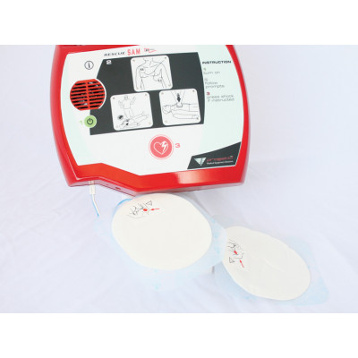 DISPOSABLE PADS for defibrillator Rescue Sam adult