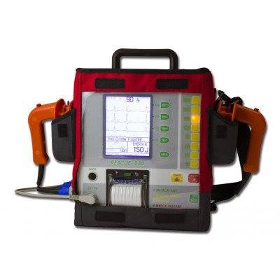 RESCUE 230 BIPHASIC DEFIBRILLATOR with pacemaker