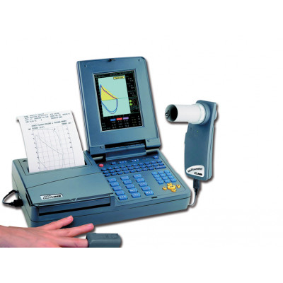 SPIROLAB III + SOFTWARE WINSPIROPRO - high resolution colour display with built-in printer
