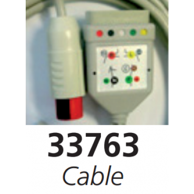 5 LEAD PATIENT CABLE