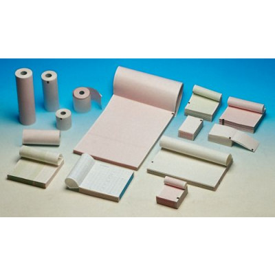 ECG THERMAL PAPER PACK - pink grid