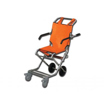 EVACUATION CHAIR orange/chrome