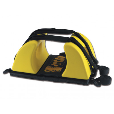CONTOUR HEAD IMMOBILIZER - yellow