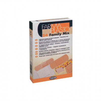 HYPOALLERGENIC ADHESIVE PLASTERS - Family mix strips