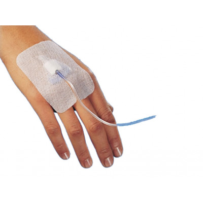 STERILE ADHESIVE DEVICE for cannula fixation