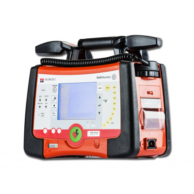 DEFIMONITOR XD330 DEFIBRILLATOR - manual + AED with SpO2 and pacer