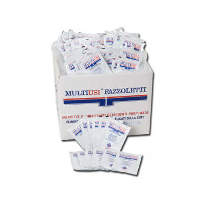 Disinfectant wipes - bags