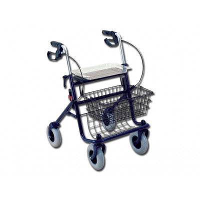 IDEAL ROLLATOR WITH 4 WHEELS