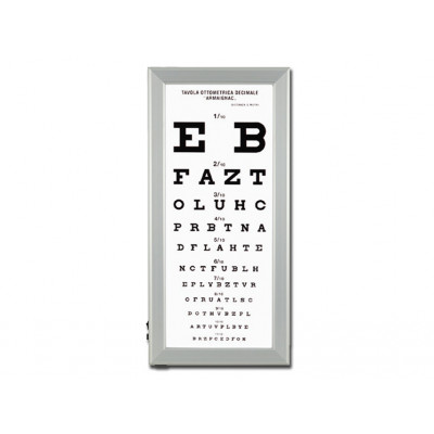 ULTRA SLIM LED OPTOMETRIC CHART - Armagnac