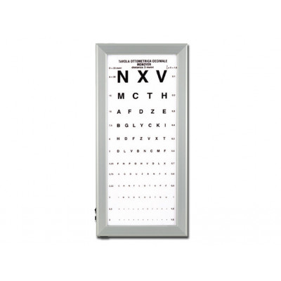 ULTRA SLIM LED OPTOMETRIC CHART - Monyer