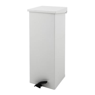 Afvalbak 65 liter uitvoering Aluminium